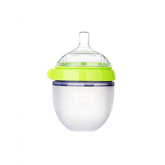 Silicone baby pacifier feeder